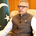 Pakistan president Arif Alvi tested corona positive