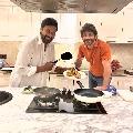 Nagarjuna thanked Chiranjeevi for a wonderful dinner