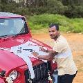 Natrarajan Adorable Return Gift To Anand Mahindra