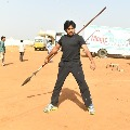 Pawan Kalyan trained with a Shaolin fighter on the sets of Harihara Veeramallu