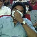 Pawan Kalyan enjoys Bandla Ganesh speech in Vakeel Saab pre release event