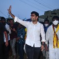 Nara Lokesh campaigns for Panabaka Lakshmi in Tirupati