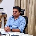 KTR review meeting on fiber grid for Telangana