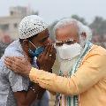 What did Zulfiqar Ali man in viral photo tell PM Modi