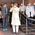 Ramnath Kovind returned to Rashtrapathi Bhavan after Bypass procedure
