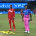 Rajastan vs Punjab Kings in Mumbai Wankhede stadium