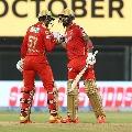 Punjab Kings posts huge total against Rajastan Royals