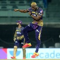 Andre Russel gets five wickets against Mumbai Indians