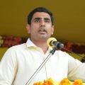 Jagan ran away from my challenge says Nara Lokesh