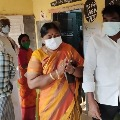 Panabaka Lakshmi alleges outsiders cast votes in Tirupati By Polls