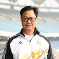 Union sports minister Kiren Rijiju tested corona positive