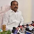 Eatala Rajender review meeting on corona situations