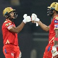 Punjab Kings registered huge total with the help of openers