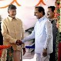 Chandrababu wishes CM KCR a speedy recovery from corona
