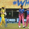 Chennai Super Kings set target to Rajasthan Royals