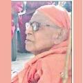 Kaivalyananda Saraswati Passed Away