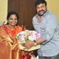 chiranjeevi says thanks to tamilisai