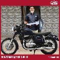 Jawa bike for real hero railway employee Mayur Shelke