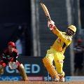 Ravindra Jadeja last over blast handed Chennai Super Kings a huge total