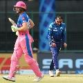 Rajsthan Royals set Mumbai Indians reasonable target