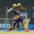 Russel quick batting helps KKR reasonable score against Delhi Capitals
