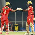 Punjab Kings posted huge score against Royal Challengers Banglore