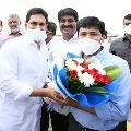 CM Jagan congratulates Gurumurthy who wins Tirupati by polls