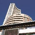 Sensex ends 465 points low