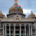 family aong with corona bed reached vidhan soudha finally got bed