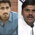 Actor Suddharth fires on BJP leader Vishnu Vardhan Reddy