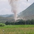 CM Jagan shocks after huge blast in Kadapa district