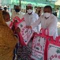 Minister Vellampalli distributes Ramadan Tohfa