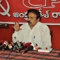 CPI Ramakrishna criticizes ycp government