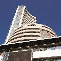 Sensex ends 296 points high