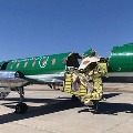 Two planes collided mid air in US Landed safely