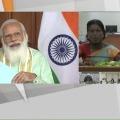PM Modi talks to AP woman farmer during release of PM Kisan Samman funds