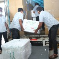 Another lot of Covishield vaccine doses arrives AP