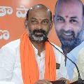 Bandi Sanjay Slaps KCR Over MP Raghurama Arrest