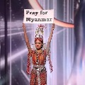 Our People Are Dying Myanmar Contestant At Miss Universe Pageant