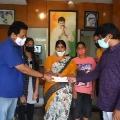Chiranjeevi helps his caravan driver family