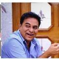 Funny banter between KTR and Shashi Tharoor