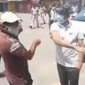 collector slaps youngster