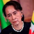 Aung San Suu Kyi appears in court