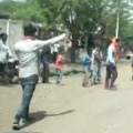 villagers attck on vaccine team
