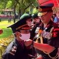Nikita widow of Pulwama martyr Major Doundiyal completes army training