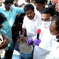 MLA Kakani explains Anandaiah medicine distribution procedure