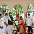 Telangana Congress leaders met governor