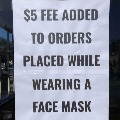 California cafe owner charges customers 5 dollars fee for wearing masks