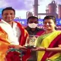 Roja felicitates AP Industries Minister Mekapati Goutham Reddy