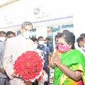 KCR welcomes CJI NV Ramana